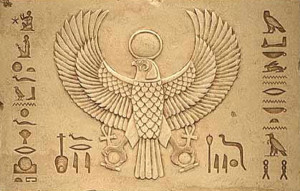 Symbol egipskiego boga Horusa