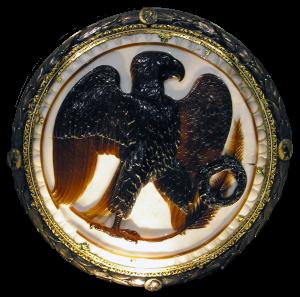 Orzeł rzymski z pałacu cesarza Augusta