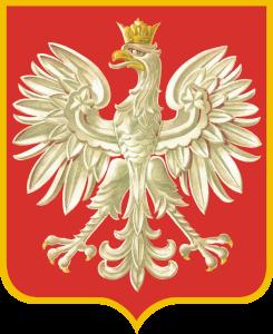 orzeł projektu prof. Z. Kamińskiego, oficjalny herb II Rzeczypospolitej (1927-1939)