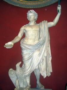Posąg cesarza Klaudiusza w Watykanie