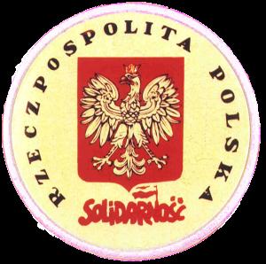 znaczek Solidarności z orłem w koronie z 1981 roku